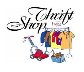 Thrift Shop Announcement