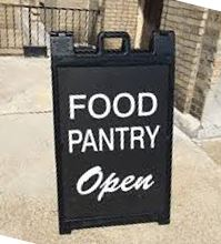 Food Pantry is still open!